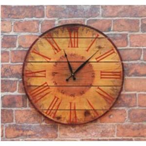 Warm Summers Indoor Outdoor Cedar Clock