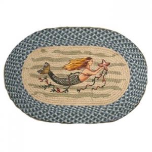 Mermaid Oval Rug