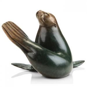 Brass Seal Sculpture