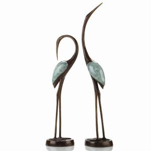 Crane Sculpture (set of 2)