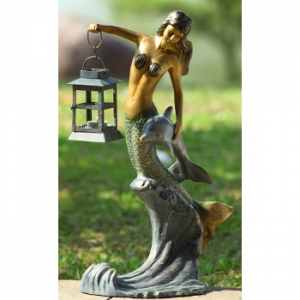 Mermaid Lantern Set Of 2