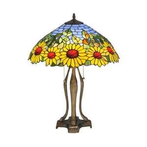 "24"" H Wild Sunflower Table Lamp"