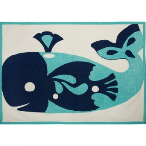 Whale Tea Towels Set of 2
