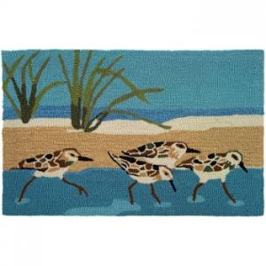 Oceanside Sandpiper Accent Rug