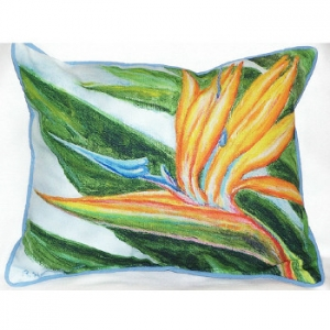 Bird Of Paradise Indoor Outdoor Pillow