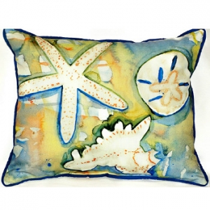 Beach Treasure Indoor Outdoor Pillow