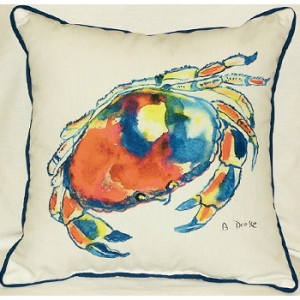 Dungeness Crab Indoor Outdoor Pillow