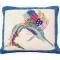 Patchwork Sailfish Pillow