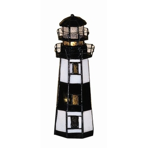 "9.5"" H The Lighthouse On Montauk Point Accent Lamp"