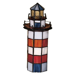 "10"" H The Lighthouse on Hilton Head Accent Lamp"