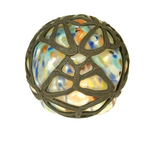 """4.75"""" H Castle Butterfly Orb Shade"""