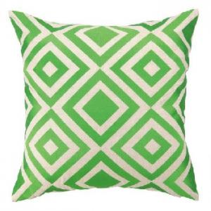 Merced Emb Pillow Green