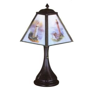 "10"" H Lithophane Lighthouse Accent Lamp"