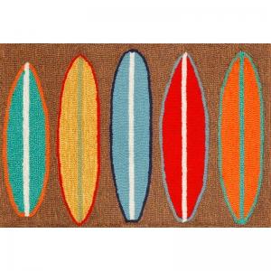 Surfboards Indoor Outdoor Rug