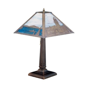 """21"""" H Lighthouse Bay Table Lamp"""