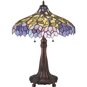 """26"""" H Wisteria Table Lamp"""