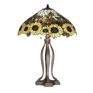 "30"" H Wild Sunflower Table Lamp"