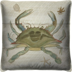 Crab Shack Pillow