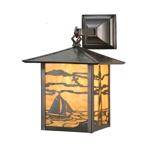 "9"" W Seneca Lighthouse Hanging Wall Sconce"