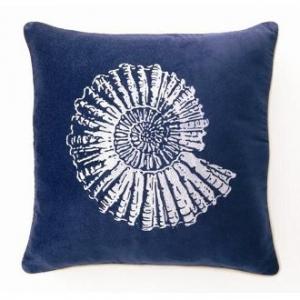 Nautilus Velvet Pillow