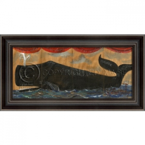 Anatomy of a Whale II Framed Art by Kolene Spicher
