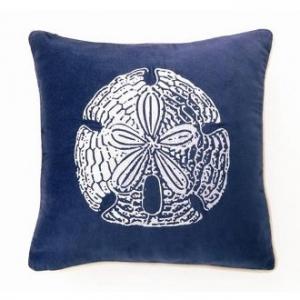 Sand Dollar Velvet Pillow