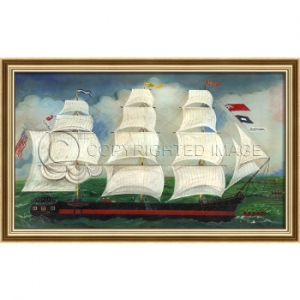 Ship William Ship Framed Ship Art