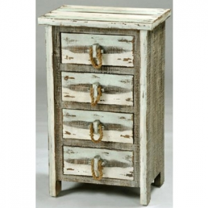 Driftwood 4 Drawer Chest