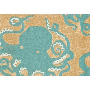 Octopus Indoor Outdoor Rug