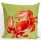Crab Red Indoor Outdoor Pillow