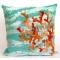 Coral Wave Indoor Outdoor Pillow