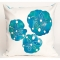 Blue Sand Dollars Indoor Outdoor Pillow