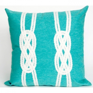 Double Knot Indoor Outdoor Pillow