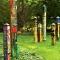 Love Garden 6' Art Pole Outdoor Garden Decor