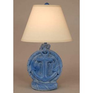 Anchor Table Lamp Blue
