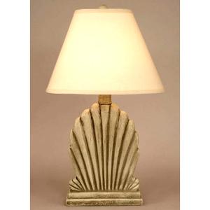 Fan Shell Table Lamp - Seastone