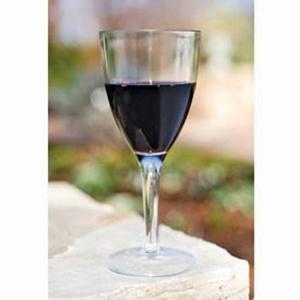 Acrylic Wine Glasses S/4