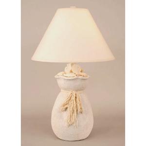 NUDE BAG OF SHELLS TABLE LAMP
