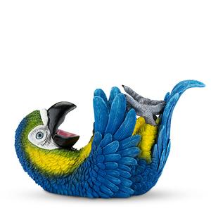 Blue Parrot Wine Holder