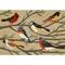 """Liora Manne Frontporch Birds Indoor/Outdoor Rug - Natural, 20"""" By 30"""""""