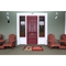 "Liora Manne Frontporch Happy Holidays Indoor/Outdoor Rug - Red, 20"" By 30"""