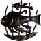 Fish Family Sculpture