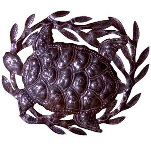 Turtle Metal Sculpture