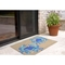 """Liora Manne Frontporch Crabs Indoor/Outdoor Rug - Blue, 24"""" By 36"""""""