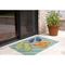 """Liora Manne Frontporch Flip Flops Indoor/Outdoor Rug - Blue, 24"""" By 36"""""""