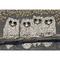 """Liora Manne Frontporch Owls Indoor/Outdoor Rug - Grey, 24"""" By 36"""""""