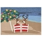 "Liora Manne Frontporch Coastal Christmas Indoor/Outdoor Rug - Multi, 24"" By 36"""