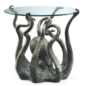 Octopus Glass Top Table