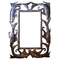 "Fish Metal Outdoor/Indoor Mirror  24"" X 20"""