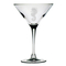 Seahorse Etched Martini Glass Set